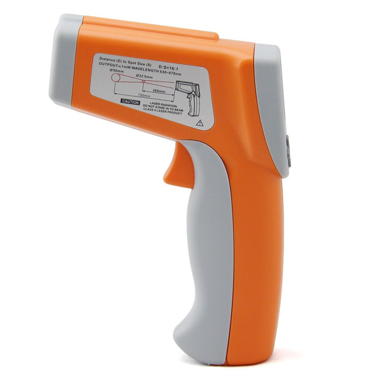 Dual Laser Infrared Thermometer DT8580
