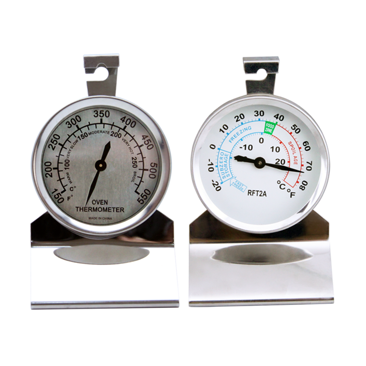 Sitting and Hanging Oven/Freezer Thermometer