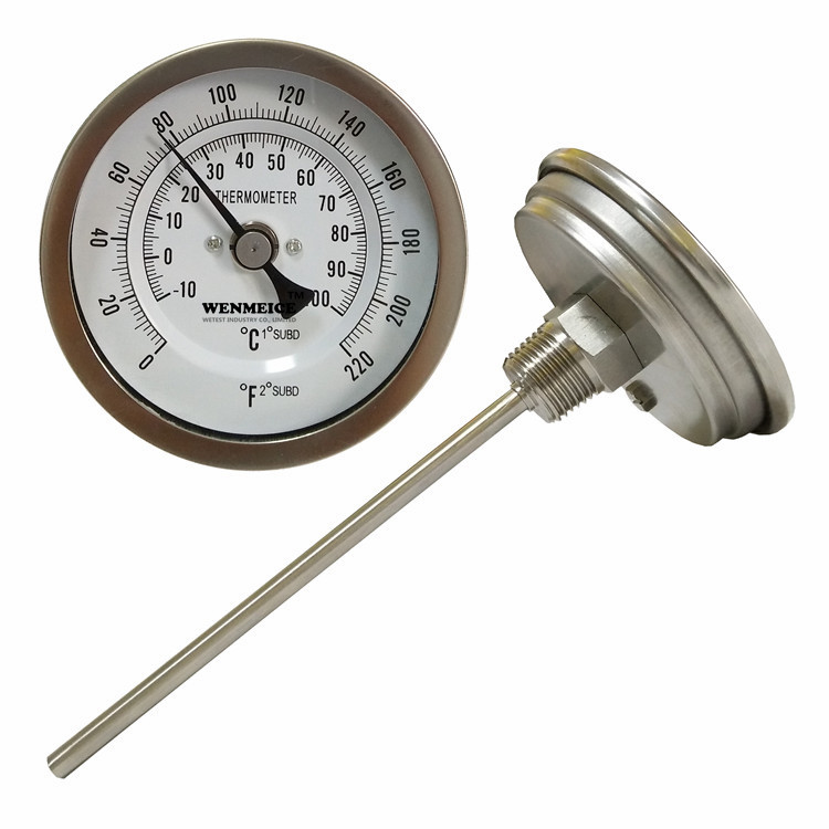 Large Dial Instant Read Bimetallic Thermometer