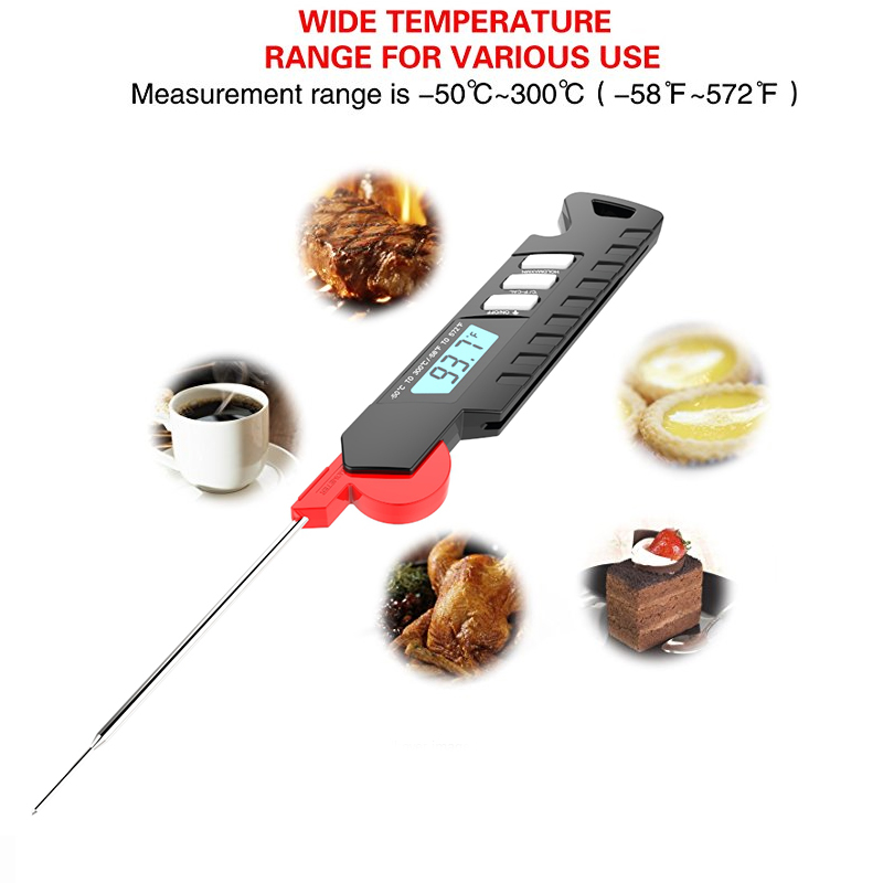 Waterproof Digital Meat Thermometer BBQ Thermometer