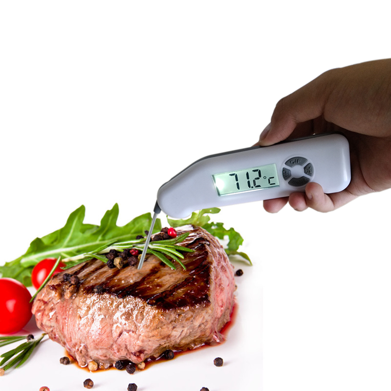 Waterproof Digital Folding Food Thermometer