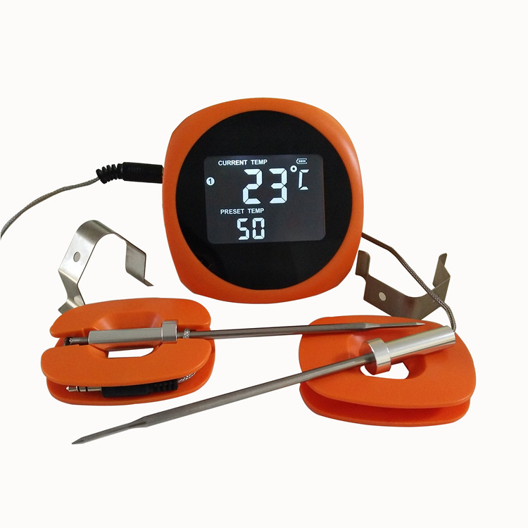 6 Channels Bluetooth Thermometer For Grilling