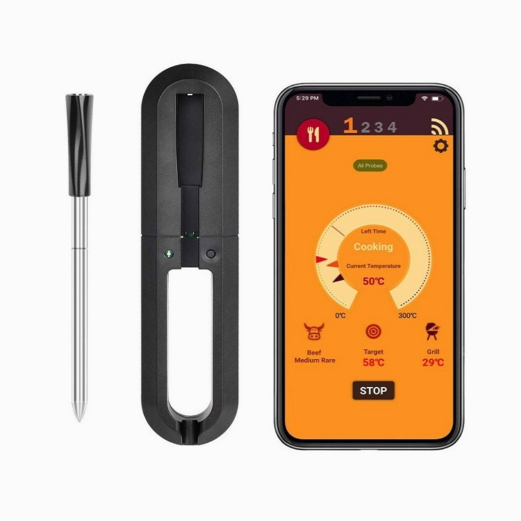 Smart Wireless Meat Thermometer