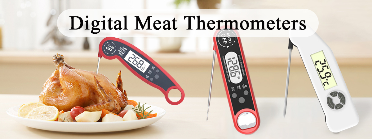 Digital Instant Read Food Thermometers